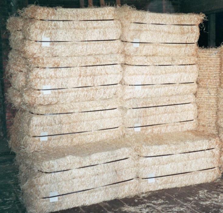Dřevitá vlna jemný řez - balík 35kg